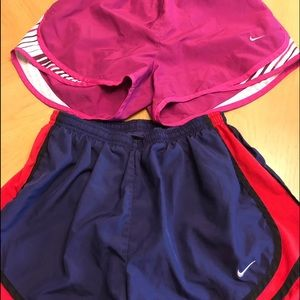 2 pairs Nike Athletic Shorts